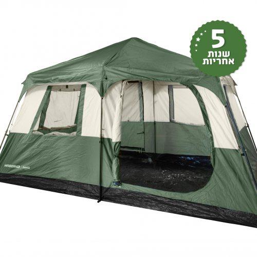 אוהל 8 אנשים בפתיחה מהירה