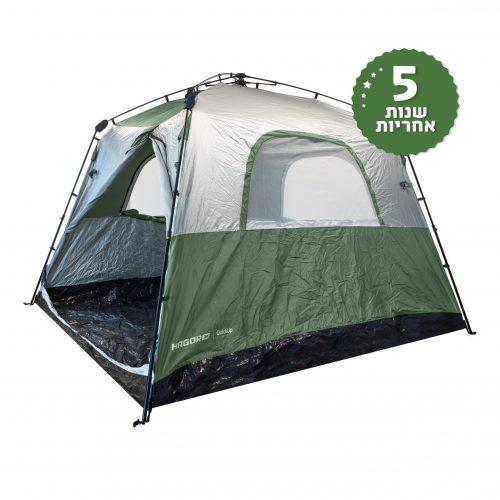 אוהל 6 אנשים בפתיחה מהירה