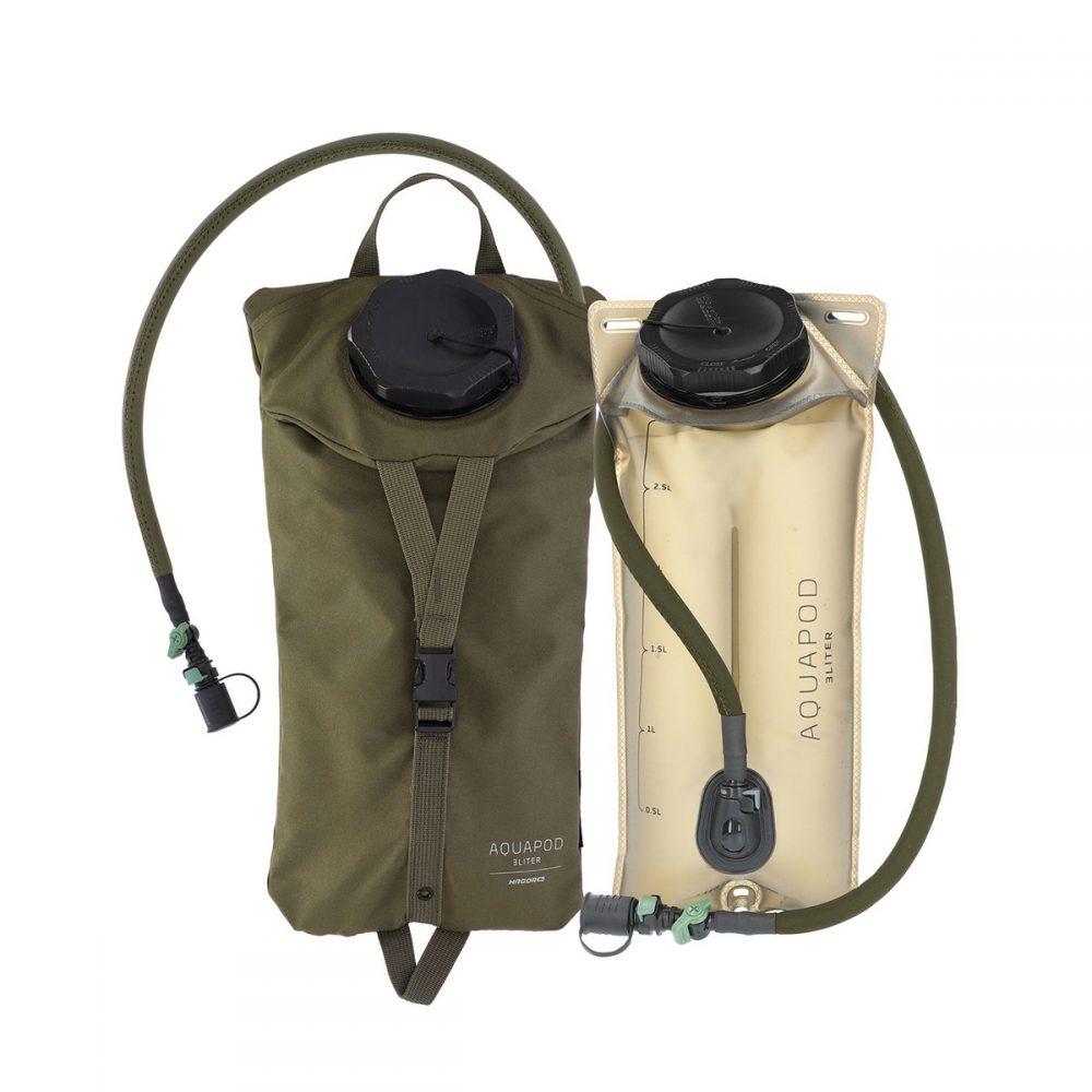 מערכת שתייה AQUAPOD 3 ליטר + כיסוי בד